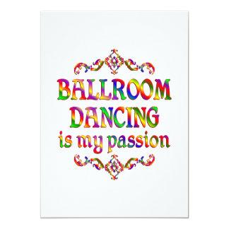 Ballroom Dancing Passion 13 Cm X 18 Cm Invitation Card