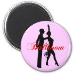 Ballroom Dancing Refrigerator Magnet