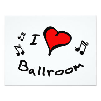 Ballroom Heart-Love Customized Gift Personalized Announcement