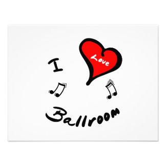 Ballroom Items - I Heart Ballroom Announcement