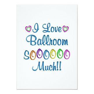 Ballroom Love So Much Announcements