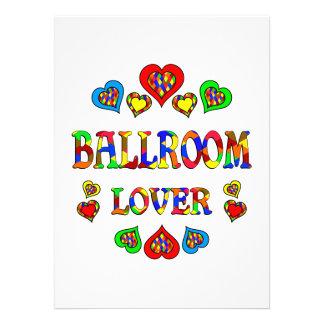 Ballroom Lover Custom Announcement