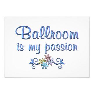 Ballroom Passion Cards