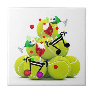 Balls music joy. tile