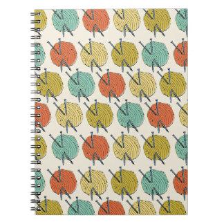 Balls of Wool Pattern Notebooks