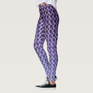 BALLS ON LILAC LEGGINGS