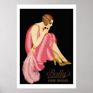 Bally s Fine Shoes Print