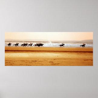 ballybunion beach race poster