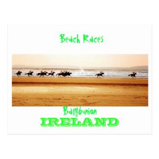 ballybunion beach races postcard