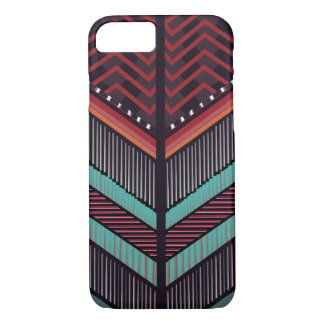 BALMAIN Inspired Pattern iPhone 7, Barely There iPhone 8/7 Case