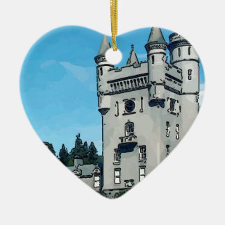 Balmoral Castle Ceramic Ornament