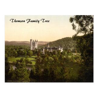 Balmoral Castle, Royal Deeside, Scotland Postcard