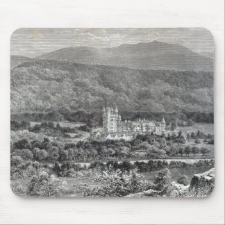 Balmoral, from 'Leisure Hour', 1888 Mousepad