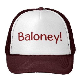 Baloney Judge Hat