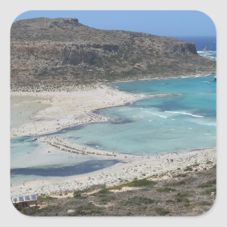 Balos Lagoon Tropical Beach Stickers