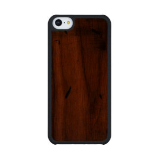 Baltic Pine Wood Carved® Wooden iPhone 5C Cases Carved® Walnut iPhone 5C Slim Case