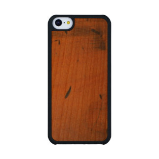 Baltic Pine Wood Carved® Wooden iPhone 5C Cases Cherry iPhone 5C Slim Case