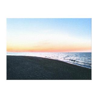 Baltic Sea beach Canvas Print