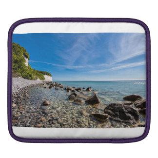 Baltic Sea coast on the island Ruegen iPad Sleeve