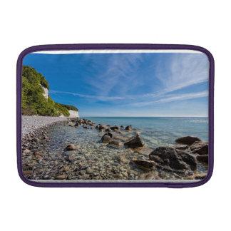 Baltic Sea coast on the island Ruegen MacBook Sleeve