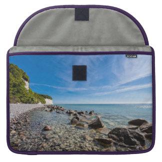 Baltic Sea coast on the island Ruegen Sleeve For MacBook Pro
