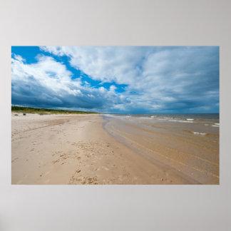 Baltic sea poster