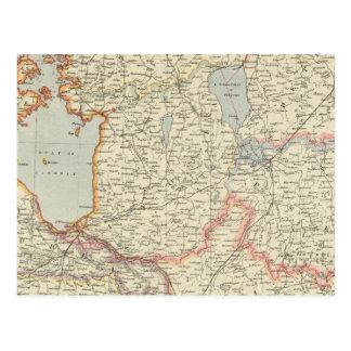 Baltic States Postcard