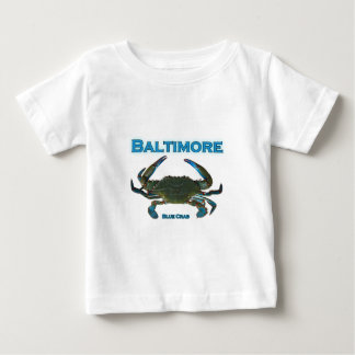 Baltimore Blue Crab Logo Baby T-Shirt
