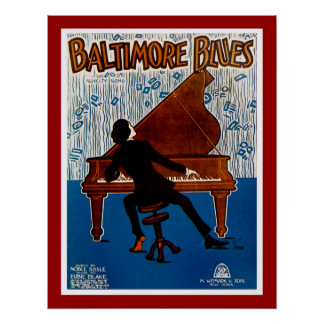 Baltimore Blues Poster