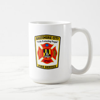 Baltimore City Fire Department Mug