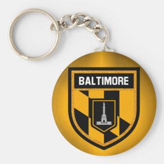 Baltimore Flag Key Ring