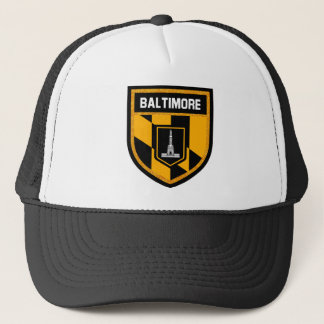 Baltimore Flag Trucker Hat
