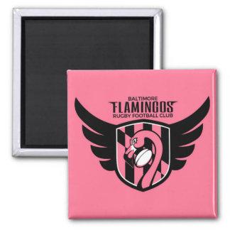 Baltimore Flamingos Magnet (pink wings)