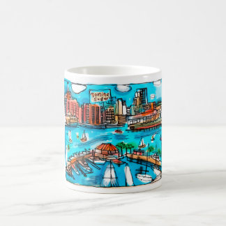 Baltimore Harbor Mug! Coffee Mug