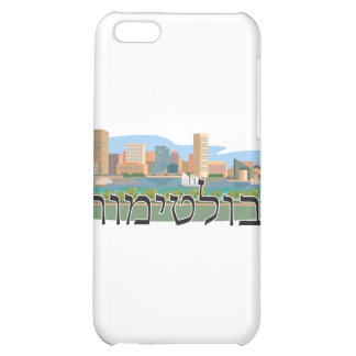 Baltimore in Hebrew Case For iPhone 5C