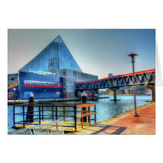 Baltimore Inner Harbor Greeting Card