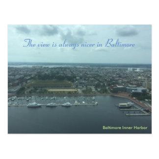 Baltimore Inner Harbor Post Card
