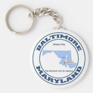 Baltimore Key Ring