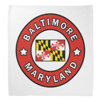 Baltimore Maryland Bandana