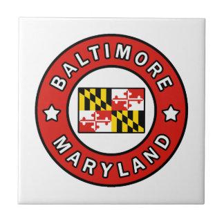 Baltimore Maryland Ceramic Tile