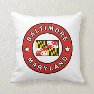Baltimore Maryland Cushion