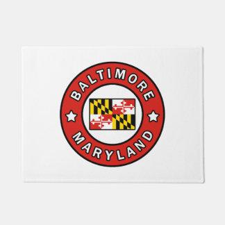 Baltimore Maryland Doormat