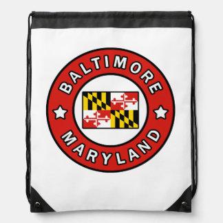 Baltimore Maryland Drawstring Bag