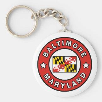 Baltimore Maryland Key Ring