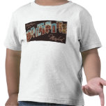 Baltimore, Maryland - Large Letter Scenes 3 Shirt