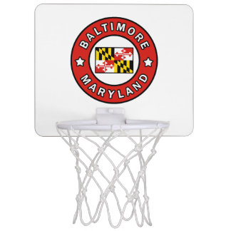 Baltimore Maryland Mini Basketball Hoop