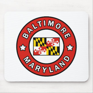 Baltimore Maryland Mouse Pad