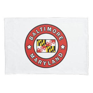 Baltimore Maryland Pillowcase