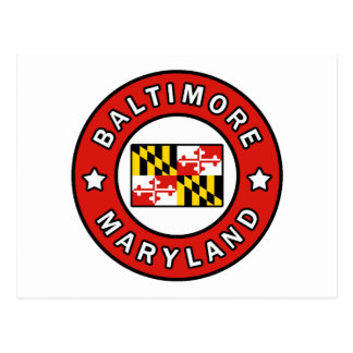 Baltimore Maryland Postcard
