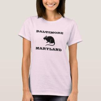 Baltimore Maryland Rat Shirt